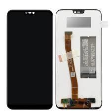LCD Дисплей за Huawei P20 Lite тъч скрийн / Черен.Бял/
