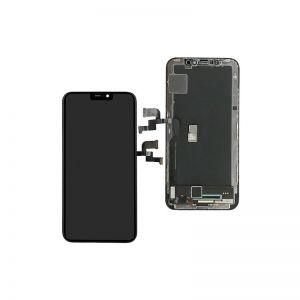 Нова OLED Технология за съвместим LCD Дисплей за iPhone X 5.8'HQ OLED Съвместим LCD Дисплей за iPhone X 5.8\' Тъч скрийн / Черен /